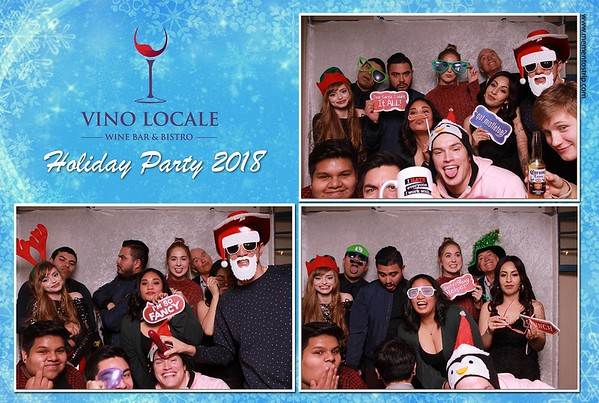 Vino Locale Staff Holiday Party 2018