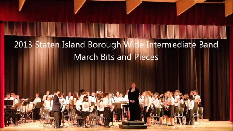 Staten Island Borough-Wide Concerts 2013 - 04-March Bits and Pieces.m4v