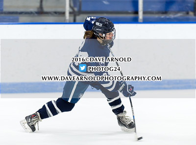12/17/2016 - Girls Varsity Hockey - Harrington Invitational - BB&N vs Nobles