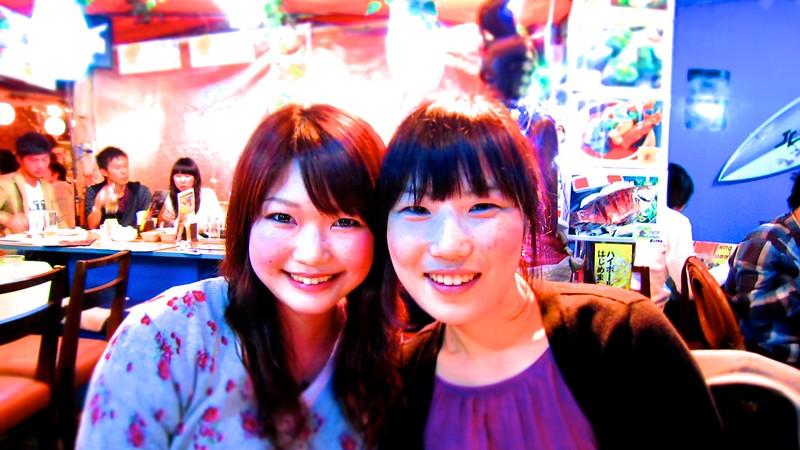 Mariko Fujita and Annie Song