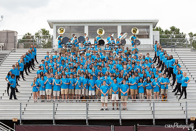 Band Picture Day 8/10/16
