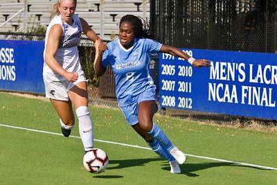 UNC Women Soccer v Providence