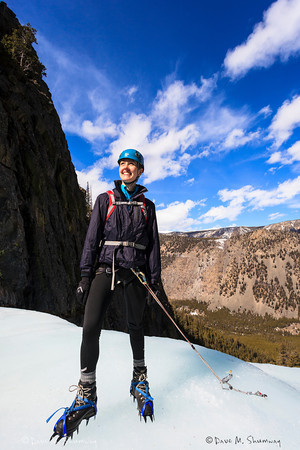 Ice Climbing, Rock Creek Falls - MT