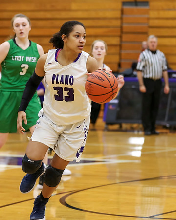 Plano girls basketball - Jan. 7, 2019