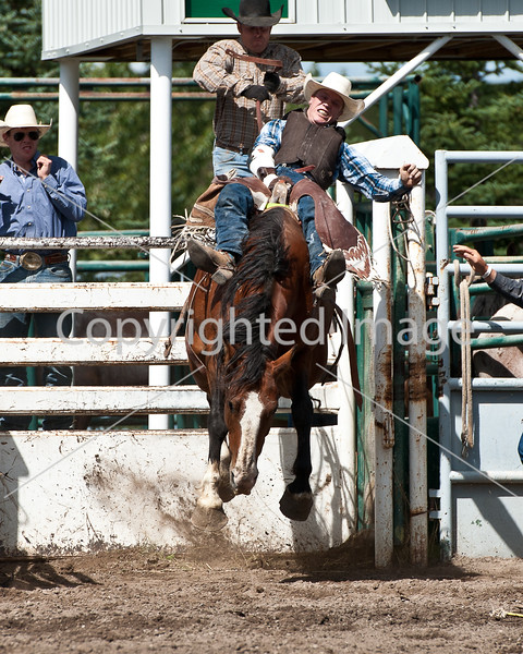 2013 Pincher Creek Pro Rodeo Sat perf and slack