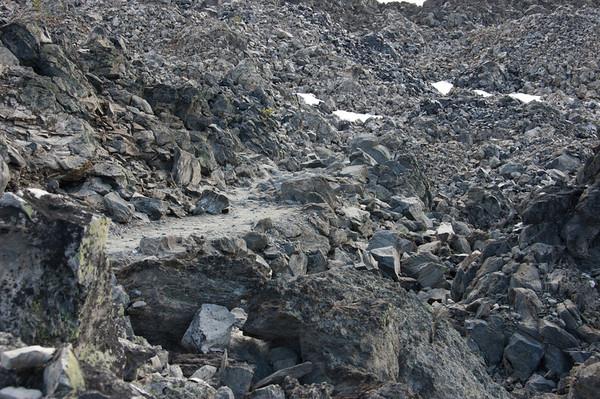 obsidian flow trail