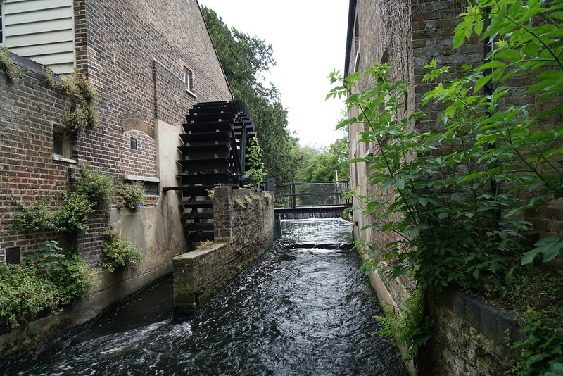 Waterwheel at the Snuff Mill