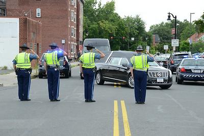 Sergeant Michael Andrews Funeral - 080817