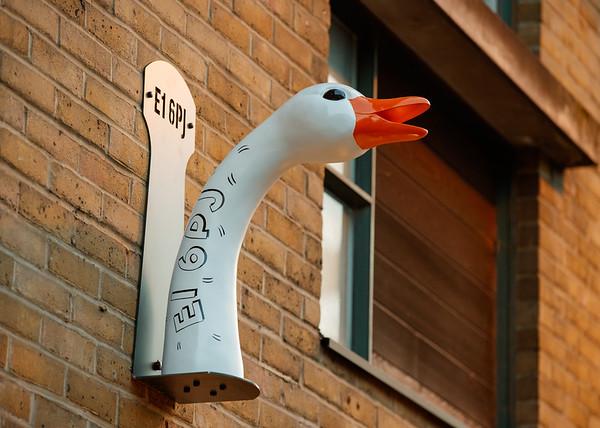 18/11/18 - Goose Island - Hidden Goose Heads for Brewpub launch
