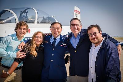 Andrew's Pilot Training Graduation