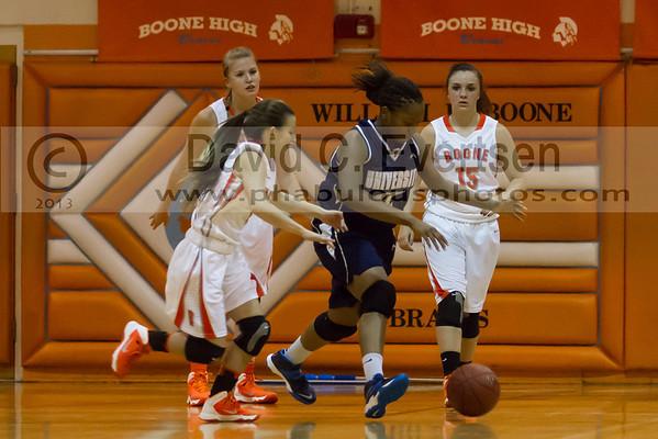 Boone Girls Varsity Basketball #1 - 2013