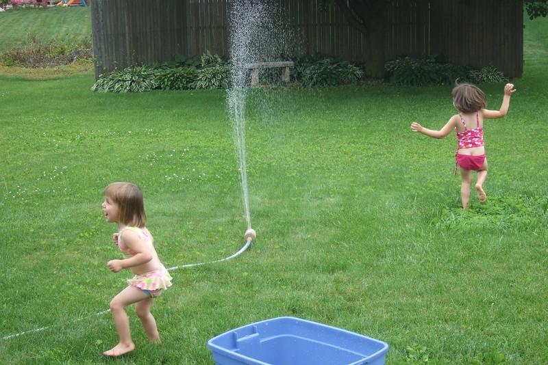 Sprinkler!