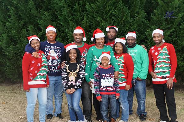 Adrina & Adrain Allen Family
