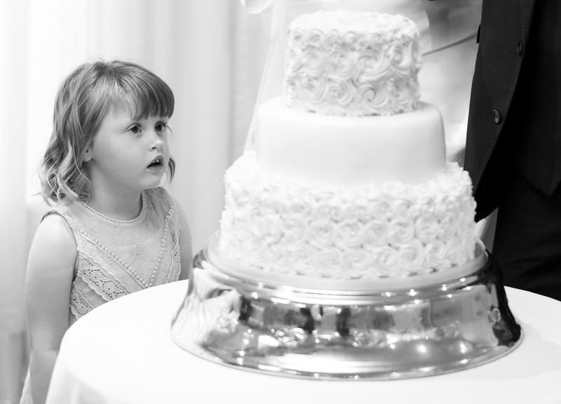 Bridesmaid with cake.jpg