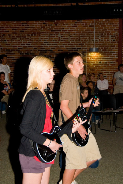 Photos from Guitar Hero contest held at 210 on 4-4-2008