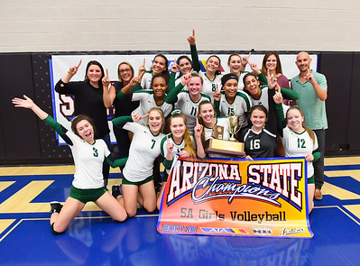 11-9-17 -  (AIA 5A Final - Intros & Awards Photos) Volleyball Championship