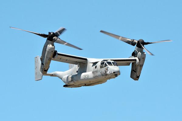 MV-22 Ospreys