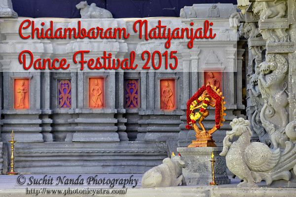 Chidambaram Temple Dance Festival, Feb 2015