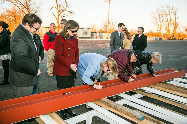 Rotary Point Beam Signing 12-16-2015