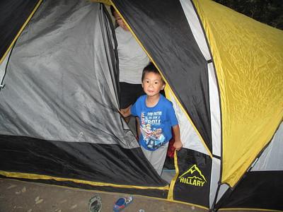 Kids Camping Memorial Park 2018