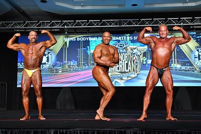 Men's Bodybuilding Masters 50+ HW