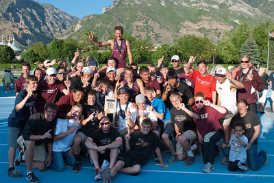 Utah State Track Meet 2012
