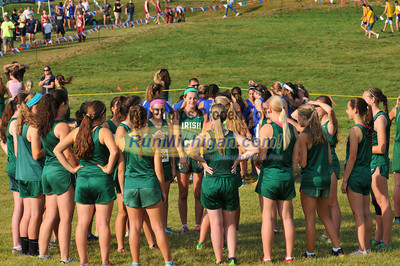 Start, JV Girls Race 1 - 2013 OU Golden Grizzly High School Invite