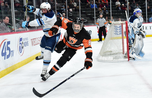 Class 2A boys hockey quarterfinal: Blaine 4, White Bear Lake 2
