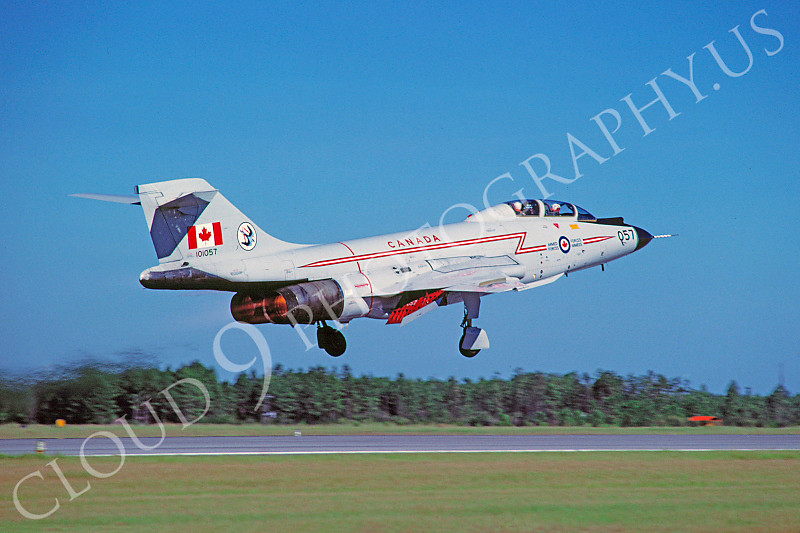 F-101BForg 00004 McDonnell F-101B Voodoo Canadian Armed Forces 101057 Tyndall AFB by Peter J Mancus .JPG