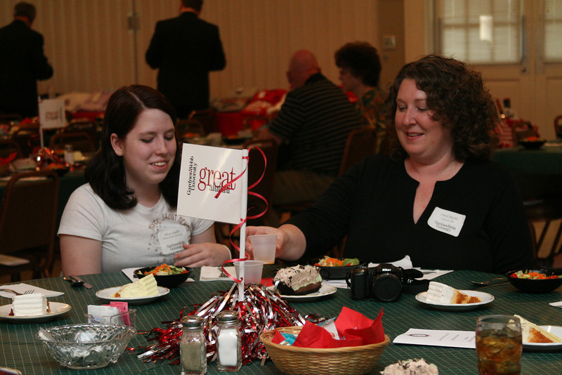 Gardner-Webb's Alumni Association hosts their Annual Celebration Dinner at First Baptist Church in Morganton.