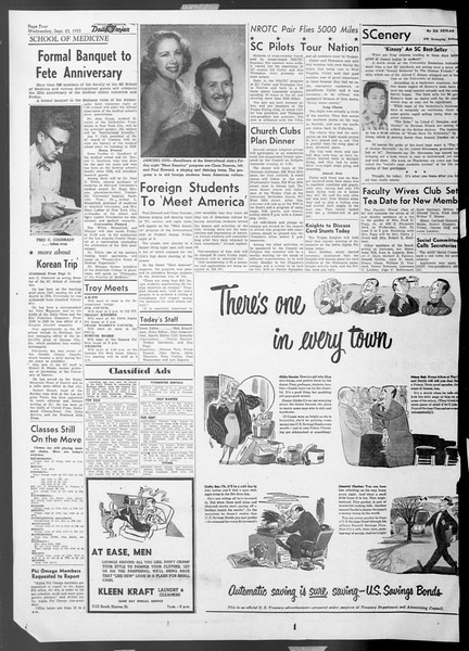 Daily Trojan, Vol. 45, No. 3, September 23, 1953