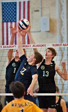 Glenbard West boys volleyball vs. Neuqua Valley