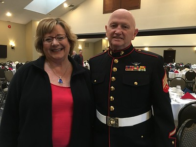 Four honored at Veterans banquet