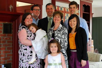 Easter Dinner in Townsend, 2011