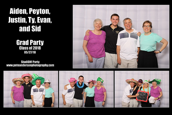 2018 Max Ben Josh Luke & Brady Grad Party