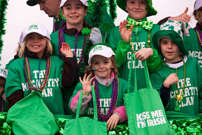 St. Patrick's Day Parade in DC (2010)