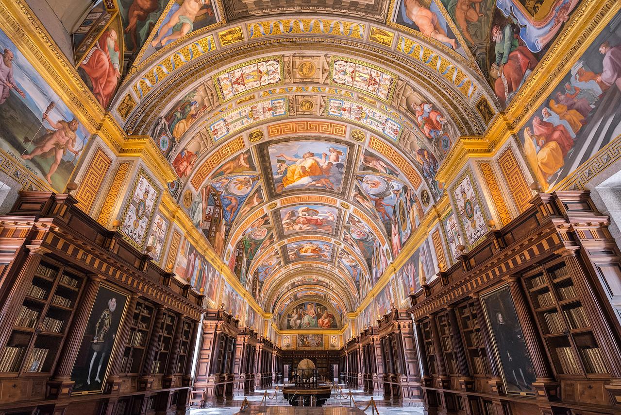 世界第八大奇景 西班牙埃斯科里亞爾修道院 El Escorial by 旅行攝影師張威廉