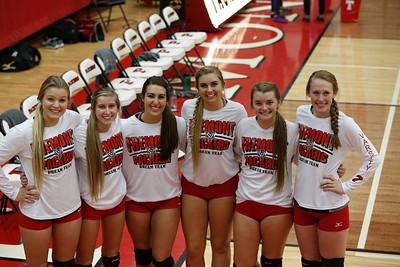 Girls Varsity Volleyball - 10/20/2015 Crossover Quad (Seniors Night)