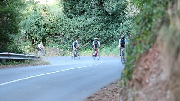 Ride up Mt Lofty 2018