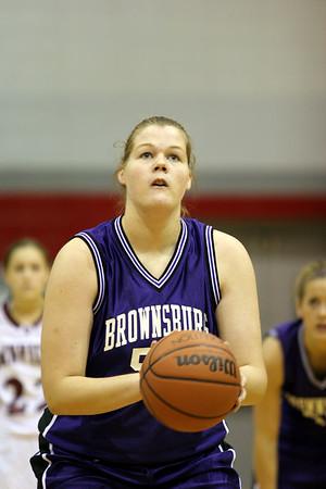 Brownsburg v Danville Girls Cnty Trny Bsktbll