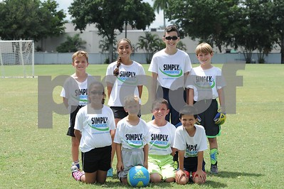Simply Soccer 8/15 thru 8/19, 2016