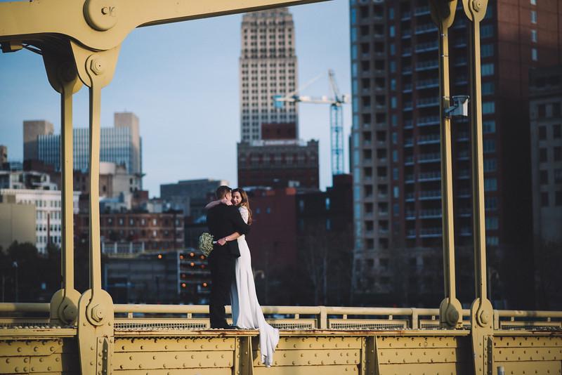 Pittsburgh Elopement Photographer - Monaco Bridge Downtown - Hadley-293.jpg