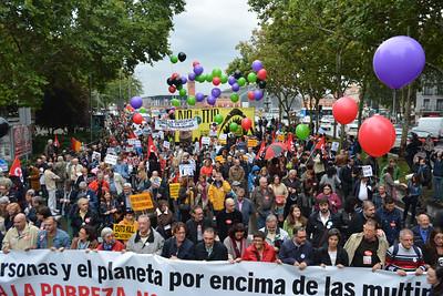Manifestación No al TTIP