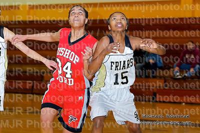 St Anthonys Vs Bishop Ford, Girls JV Basketball 01.15.11