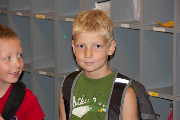 Adam's & Ryan's First day of School 2010