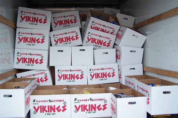 Viking Ham Dinners 12/20/09