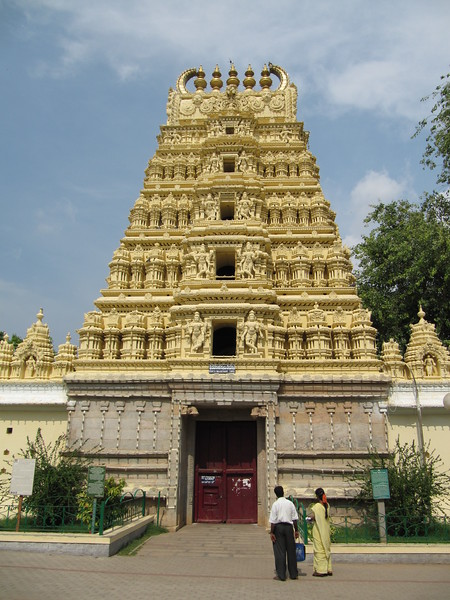 Temple in Mysore Palace