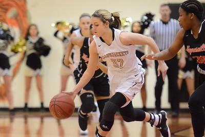 Basketball - LHS Girls 2016-17 - Waynesville Districts