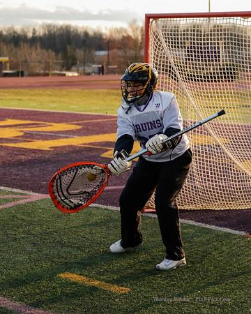 Girls JV Lacrosse v West Potomac 3/13/18