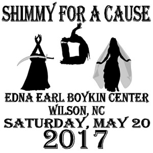 5-20-17 Shimmy For A Cause Wilson NC
